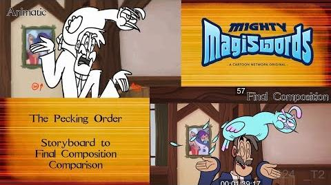 Behind the Magiswords Season 2! The Pecking Order