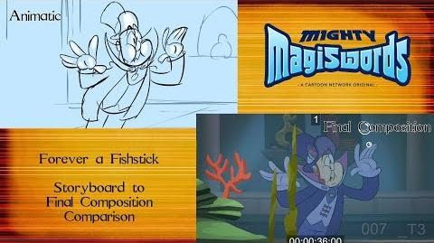 Behind the Magiswords Season 2! Forever a Fishstick