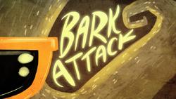 Bark Attack Title Card