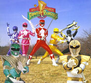 Mighty Morphin Power Rangers by JParkLover