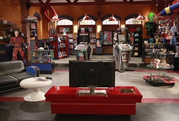 TheDomain. The Comic Book Store
