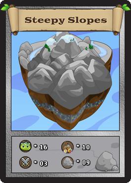 Steepy slopes card