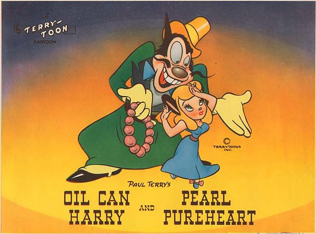 Oil Can Harry >> Oil Can Harry Mighty Mouse Wiki Fandom Powered By Wikia