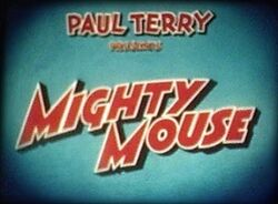 Mighty mouse logo