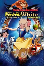 Pearl White and The Seven Creatures (Mightymouseruzelagain with catrina as the queen Mrs Toad as the Old Hag fat cat as the huntsman and oil can harry as magic mirror)