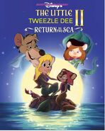 The Little tweezle dee 2 (Tanya melody Tweezle ariel basil triton desiree as Morgana Silly as Tip sam as Dash Nero and brutus as cloak and dagger Chief Mcbrusque as Undertow)