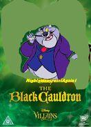 MightyMouseRuzelagain1's Movie Villian Fat cat form the black cauldron