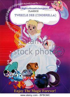 Tweezle dee (Cinderella) evil stepmother lahwhinie Step sisters Desire and Tanya aka drizella and antasia)