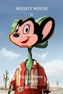 Mighty Mouse (Rango) Poster