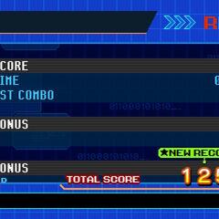 Score screen