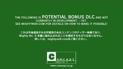 Mighty No. 9 Potential Bonus DLC Teaser