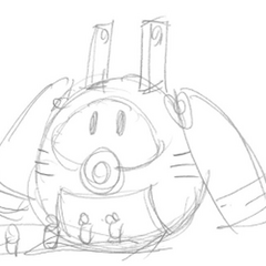 Concept sketch by Keiji Inafune