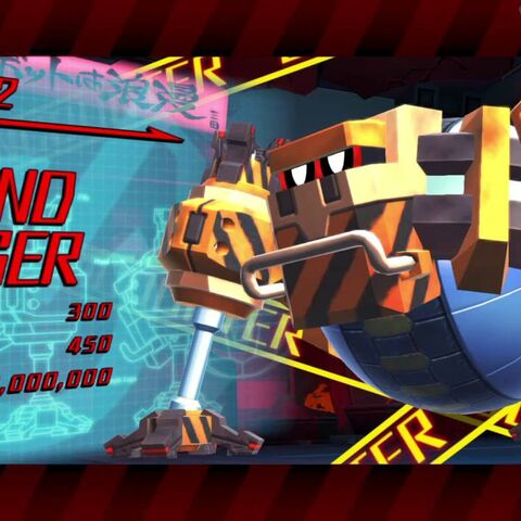 Boss intro screenshot for Round Digger.