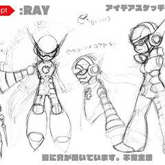 Original concept sketches by KIMOKIMO