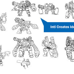 Inti Creates Ideas for Mighty No. 5