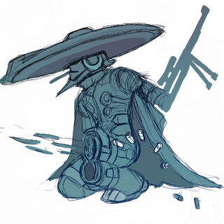 Early concept art of Mighty No. 8