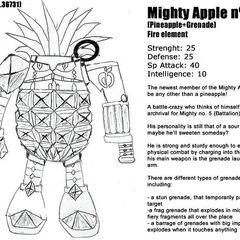 Pineapple Grenade (before)
