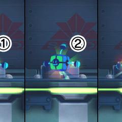 1) AcXel Shoot 2) AcXel Speed 3) AcXel Armor