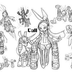 Call Design C by KIMOKIMO