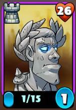 Caesar's head