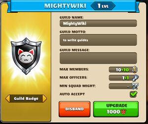 Guild config