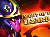 "November 30 - ""Night of the Lizards"""