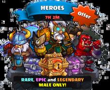 Heroes summon