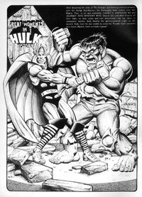 Rampaging Hulk Vol 1 8 Pinup