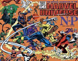 Official Handbook of the Marvel Universe Vol 1 8