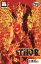 Thor Vol 6 9 Phoenix Variant