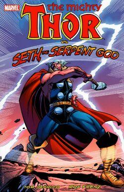 Thor vs. Seth, the Serpent God of Death TPB Vol 1 1