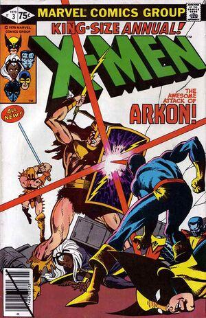Uncanny X-Men Annual Vol 1 3