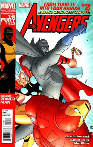 Marvel Universe Avengers Earth's Mightiest Heroes Vol 1 2