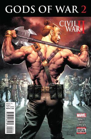 Civil War II Gods of War Vol 1 2