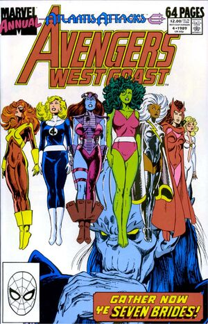 Avengers West Coast Annual Vol 1 4
