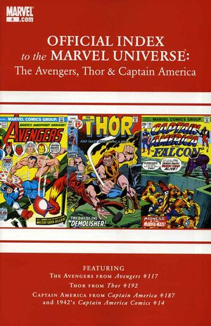 Official Index to the Marvel Universe Vol 2 4