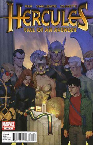 Hercules Fall of An Avenger Vol 1 1