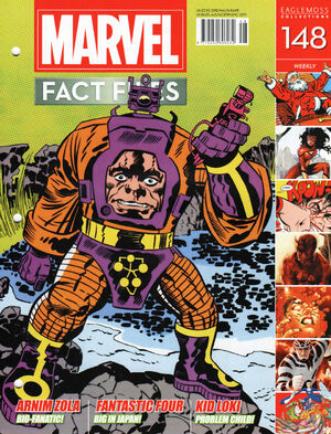 Marvel Fact Files Vol 1 148