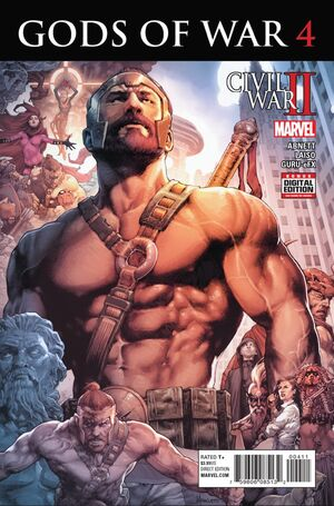 Civil War II Gods of War Vol 1 4