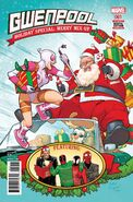 Gwenpool Holiday Special Merry Mix Up Vol 1 1
