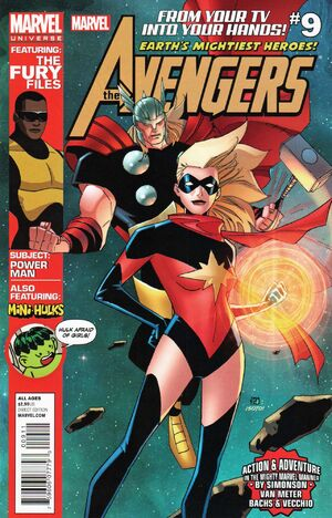 Marvel Universe Avengers Earth's Mightiest Heroes Vol 1 9