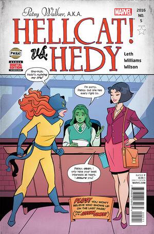 Patsy Walker AKA Hellcat Vol 1 5