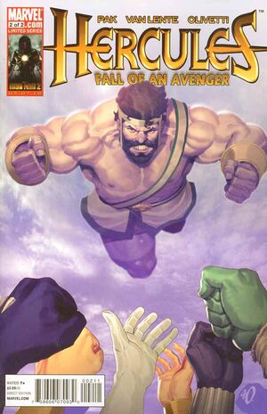 Hercules Fall of An Avenger Vol 1 2