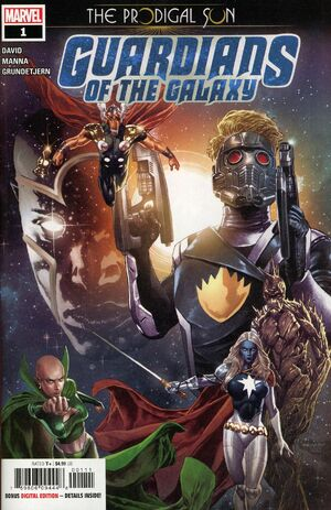 Guardians of the Galaxy Prodigal Sun Vol 1 1