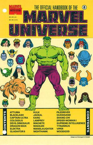 Official Handbook of the Marvel Universe Master Edition Vol 1 8