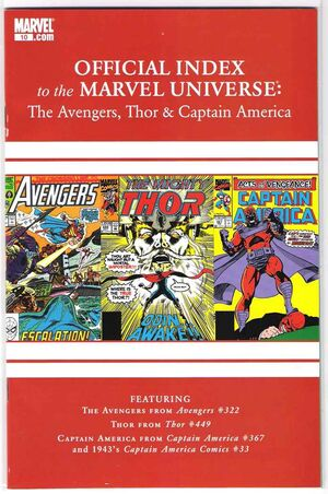 Official Index to the Marvel Universe Vol 2 10