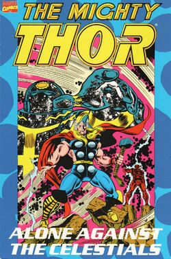 Thor Alone Against the Celestials TPB Vol 1 1