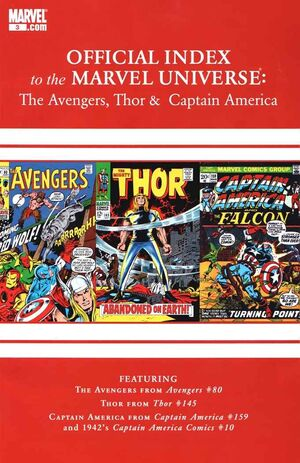 Official Index to the Marvel Universe Vol 2 3