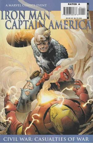Iron Man Captain America Vol 1 1