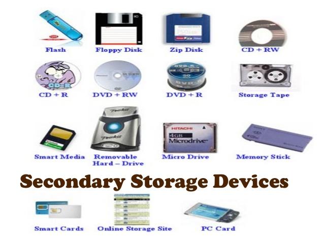 Storage devices.